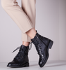 Black NOTRE-V Lace-up boots 01-3211  - small