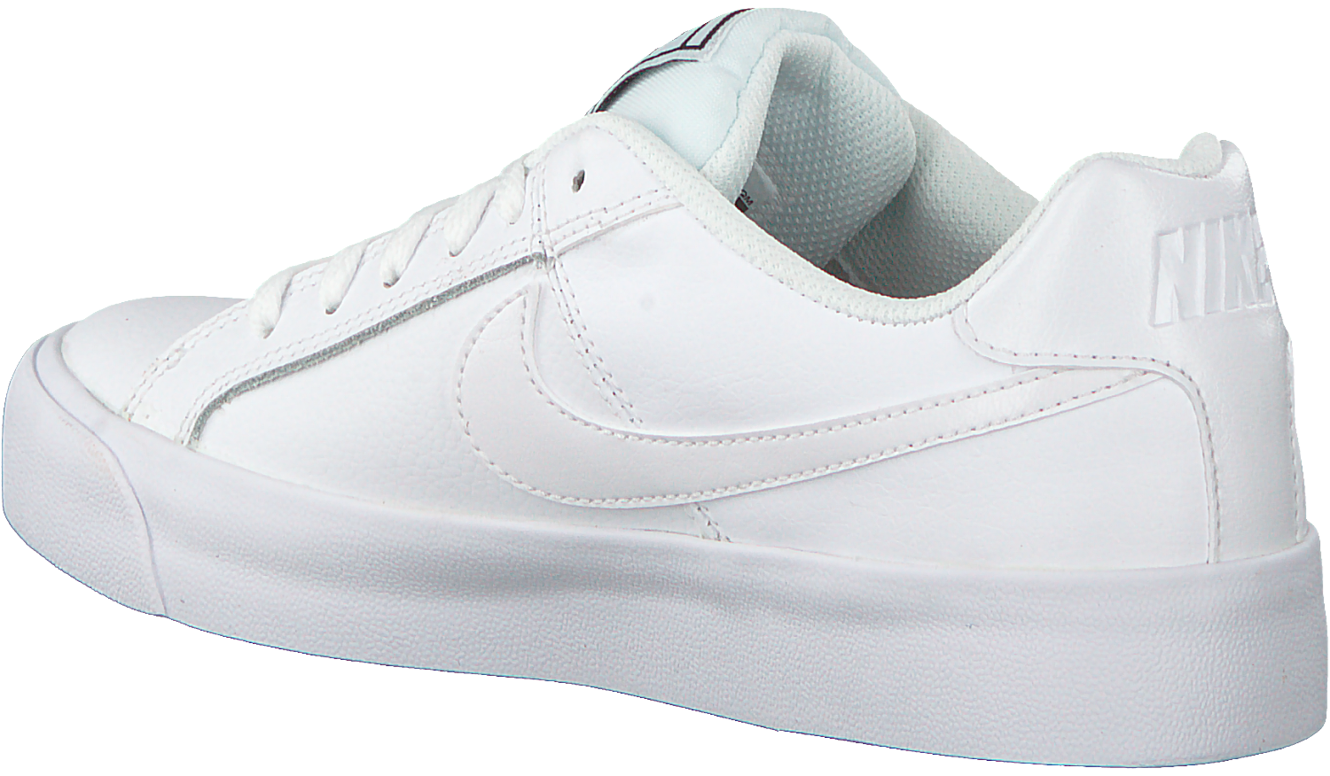 White NIKE Sneakers COURT ROYALE WMNS - Omoda.com