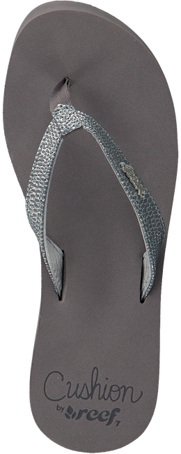 Grey REEF Flip flops STAR CUSHION SASSY - large