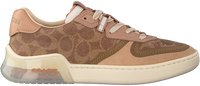 Brown COACH Low sneakers ADB SIG PVC COURT  - medium