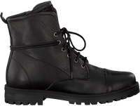 Black SIMONE MATHIEU Lace-up boots 3339 - medium