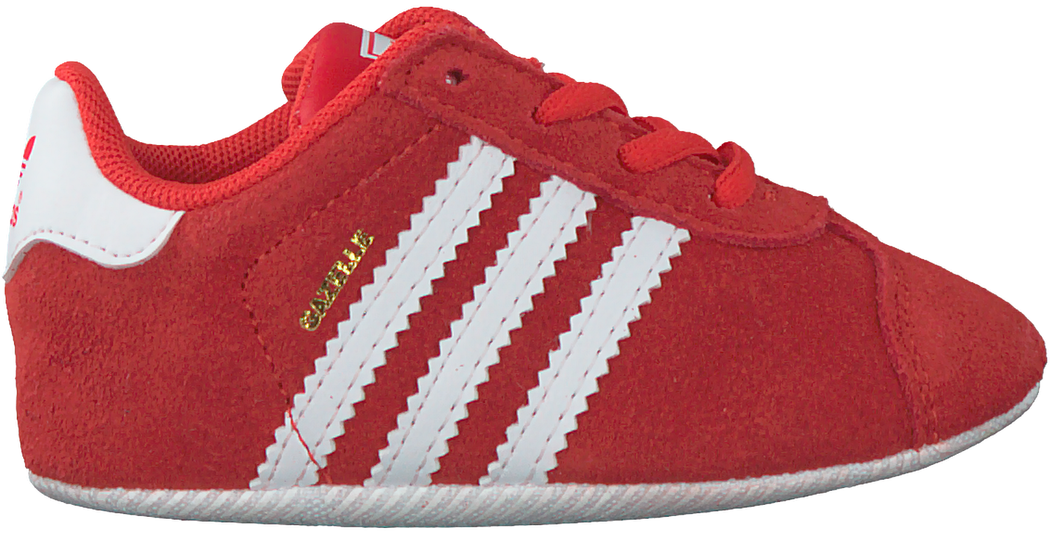 Red ADIDAS Baby shoes GAZELLE CRIB - large. Next 830d0aef7