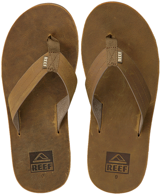 Brown REEF Flip flops REEF VOYAGE LE  - large
