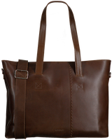 Brown MYOMY Handbag WRAPPED WORKBAG  - medium