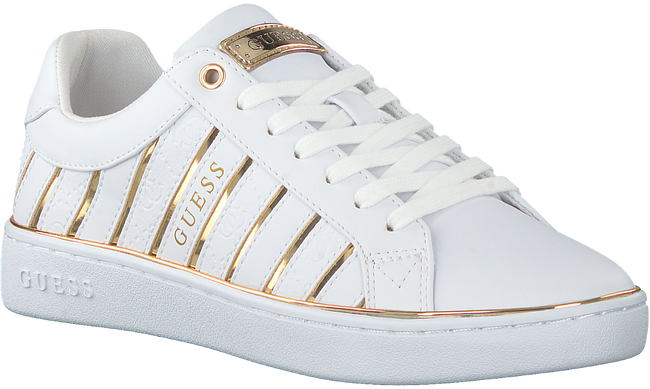 White GUESS Low sneakers BOLIER  - large
