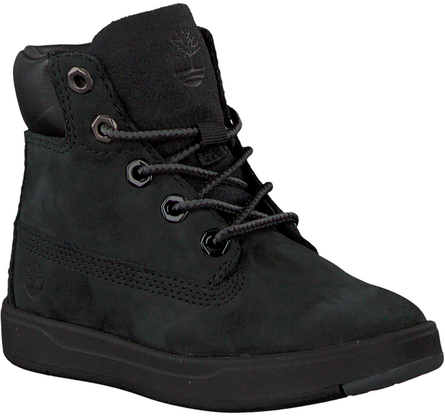 Black TIMBERLAND Classic ankle boots DAVIS SQUARE 6 KIDS - large