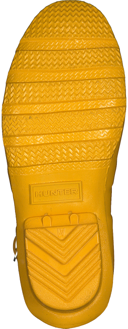 Yellow HUNTER Rain boots ORIGINAL KIDS GLOSS - large