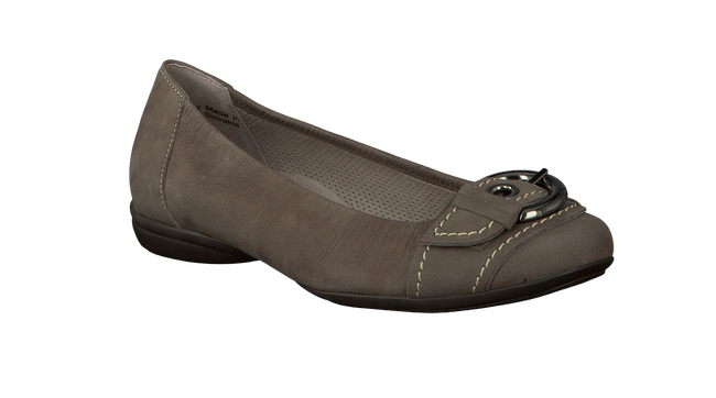 Taupe GABOR Ballet pumps 025 - large