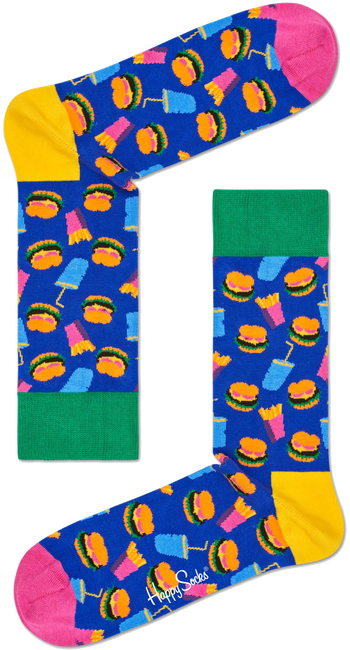 HAPPY SOCKS Socks HAMBURGER - large