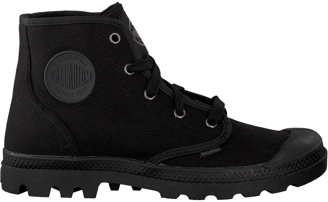 Black PALLADIUM Classic ankle boots PAMPA HIGH D - large