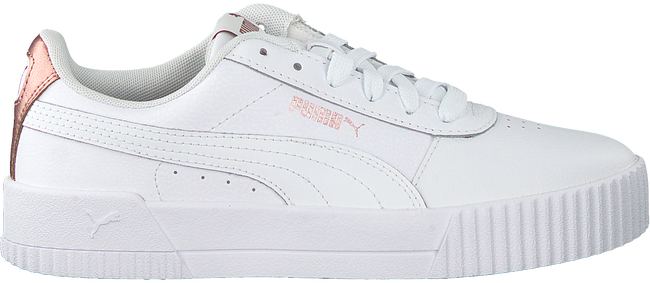 White PUMA Low sneakers CARINA L