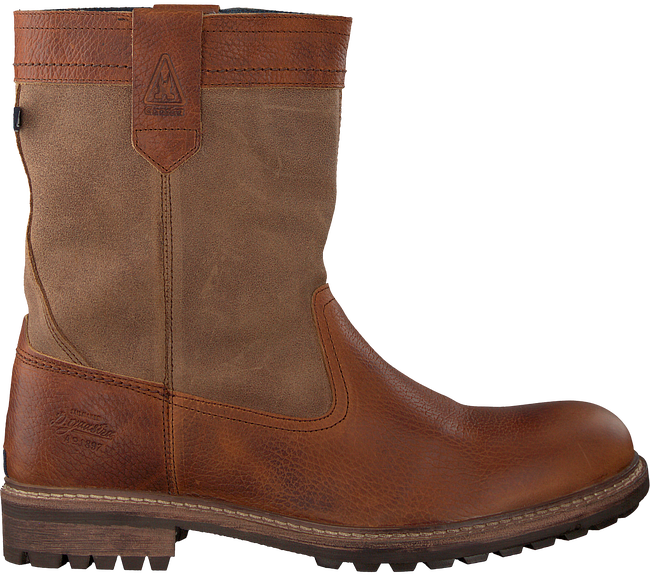 Cognac GAASTRA Classic ankle boots CABIN HIGH FUR - large
