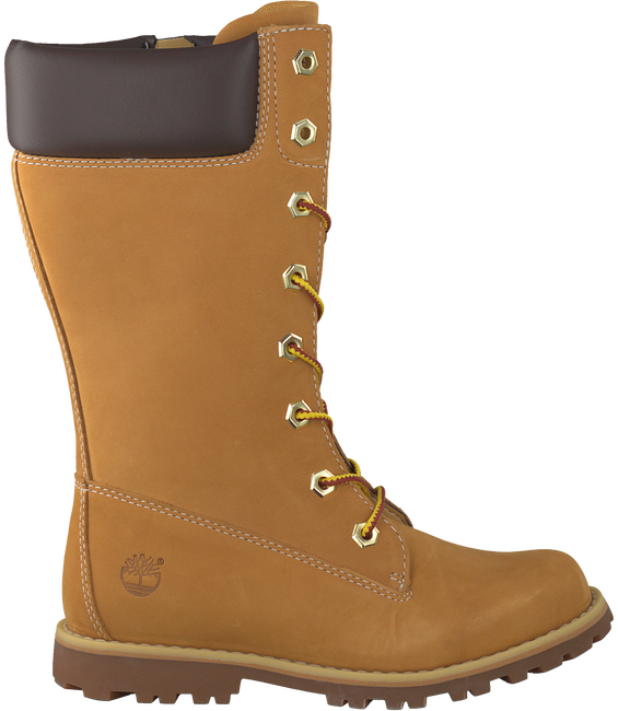 Camel TIMBERLAND High boots GIRLS CLASSIC TALL LACE-UP - large