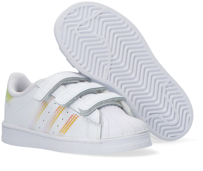 White ADIDAS Low sneakers SUPERSTAR CF I  - large