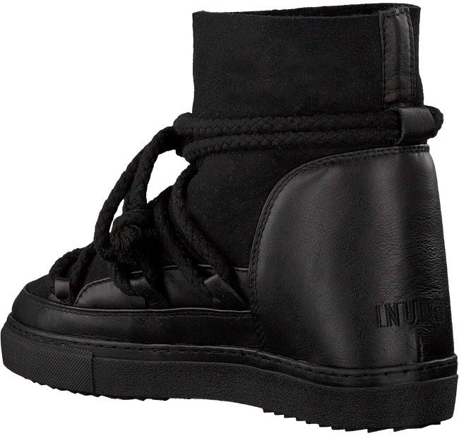 Black INUIKII Classic ankle boots CLASSIC WEDGE  - large