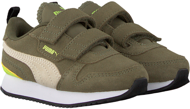 Green PUMA Low sneakers R78 SD V INF  - large