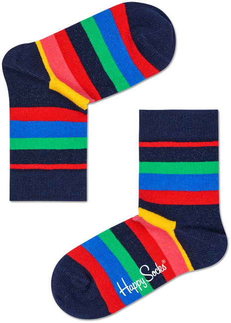 HAPPY SOCKS Socks STRIPE KIDS - large