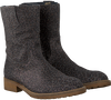 Grey HIP High boots H1317 - small