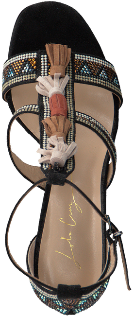 Black LOLA CRUZ Sandals 307Z04BK - large