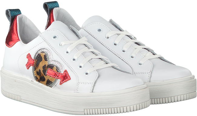 White PS POELMAN Sneakers R15565 - large