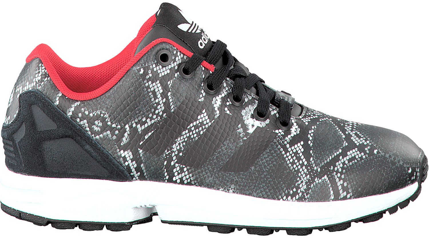 Black ADIDAS Sneakers ZX FLUX DAMES - Omoda.com