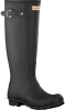 Black HUNTER Rain boots WOMENS ORIGINAL TALL - small