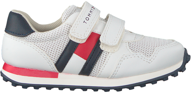 White TOMMY HILFIGER Sneakers LOW CUT VELCRO SNEAKER  - large