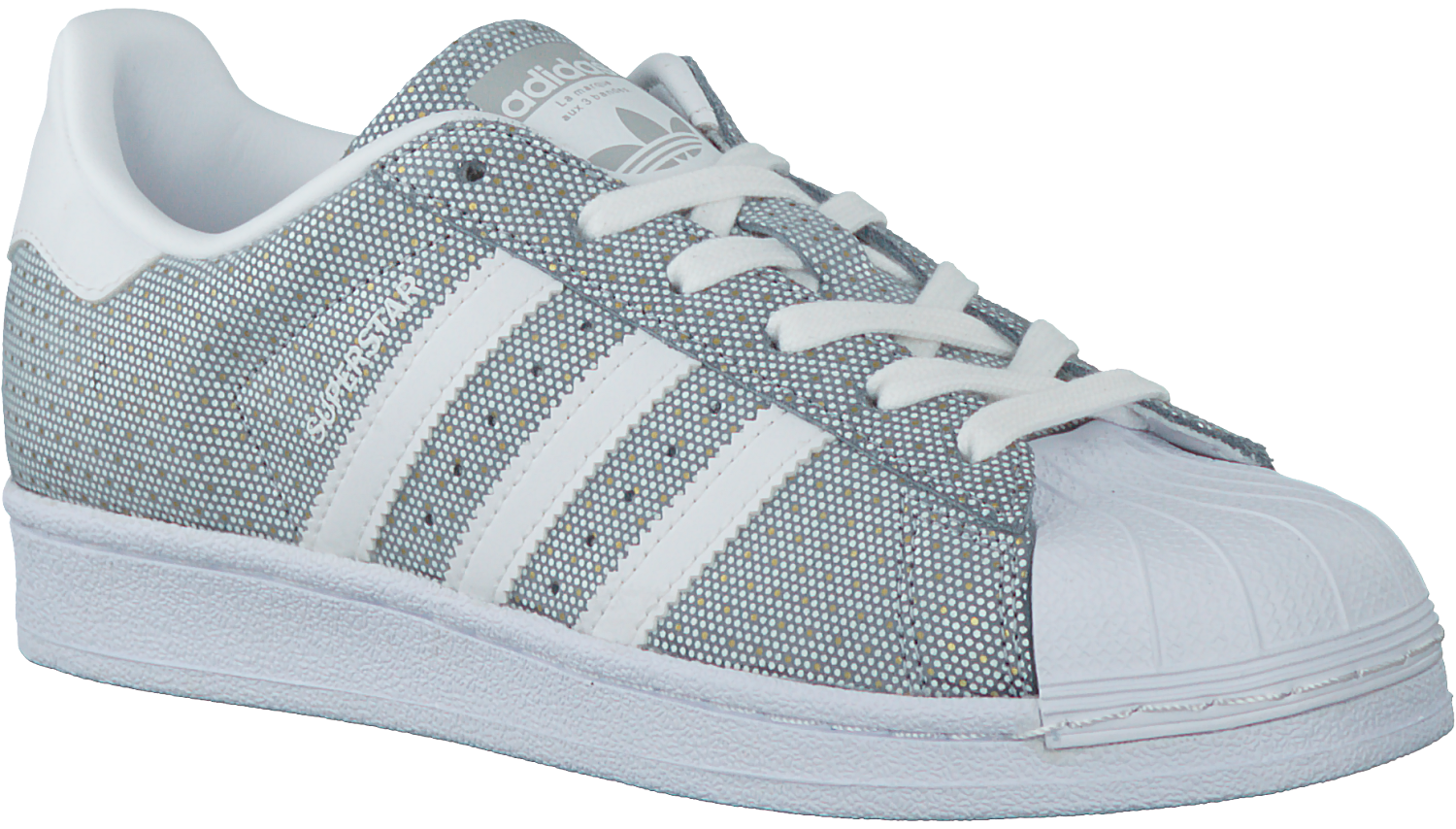 Grey ADIDAS Sneakers SUPERSTAR DAMES - Omoda.com