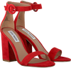 Red STEVE MADDEN Sandals FRIDAY - small