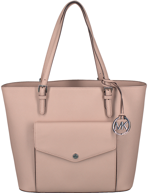 Pink MICHAEL KORS Shoulder bag JET SET ITEM LG PKT MF TOTE - large