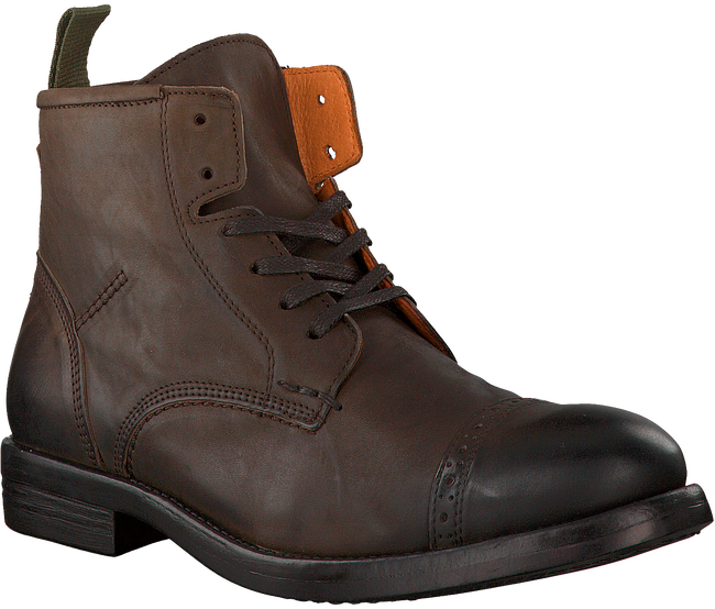 Brown OMODA Lace-up boots 7526 - large
