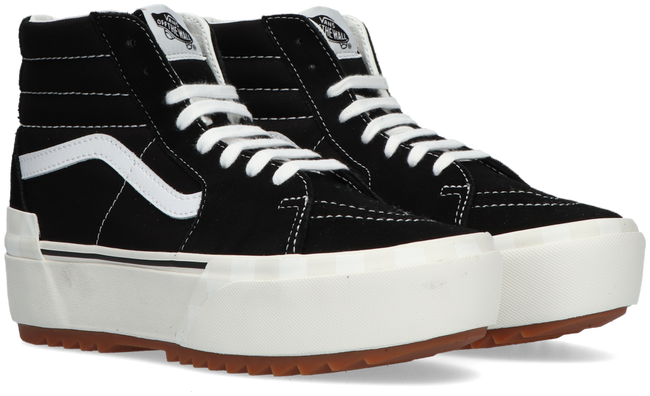 Black VANS High sneakers UA SK-8HI STACKED  - large