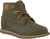 Grey TIMBERLAND Classic ankle boots POKEY PINE 6IN BOOT KIDS - small