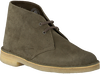 Green CLARKS Lace-up boots 26138111 DESSERT BOOT - small