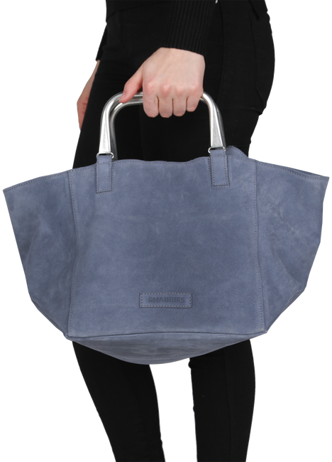 Blue SHABBIES Handbag 212020004 - large