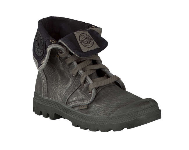 Grey PALLADIUM Ankle boots PALLABROUSE D - large
