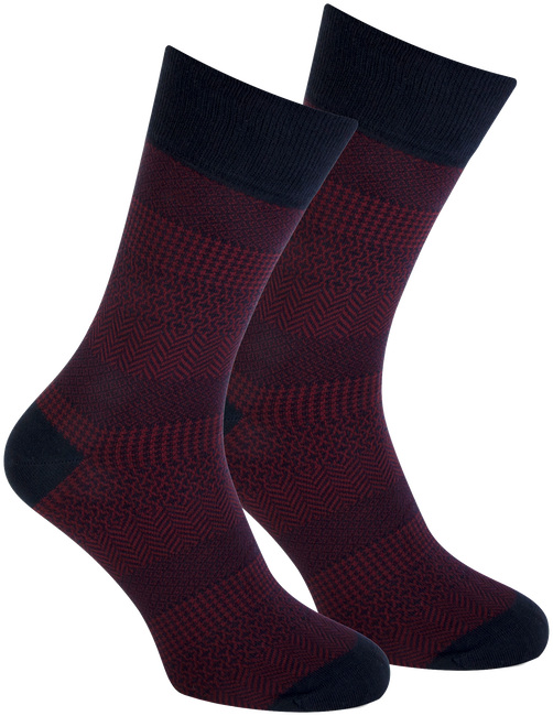 Red MARCMARCS Socks RED NEW YORK - large