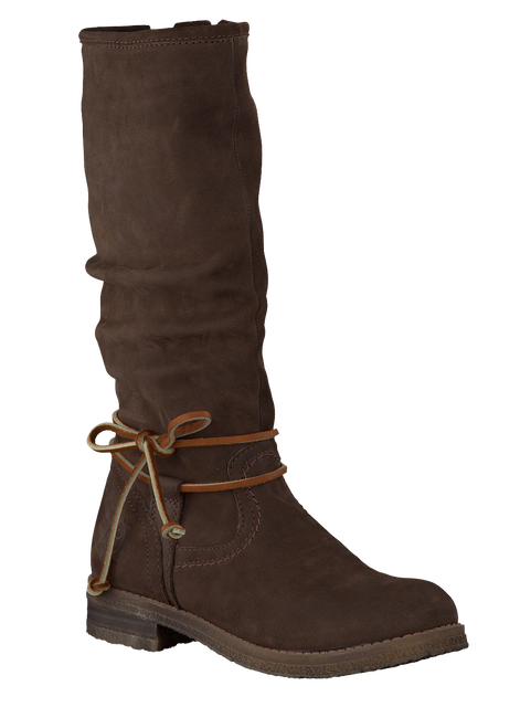 Brown OMODA High boots K4314 - large