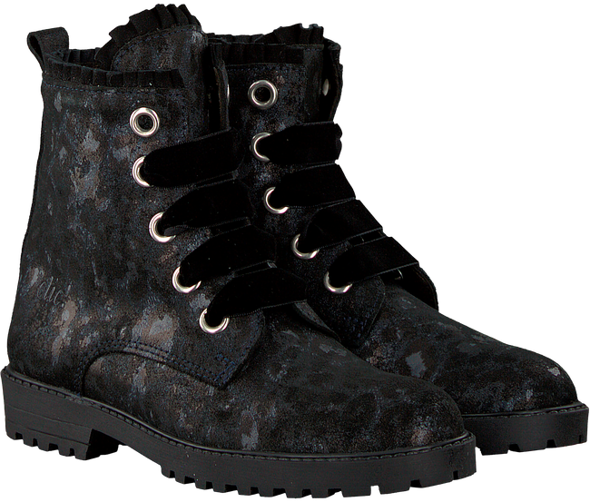 Black CLIC! Lace-up boots 9271 - large