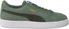 Green PUMA Sneakers SUEDE CLASSIC JR - small
