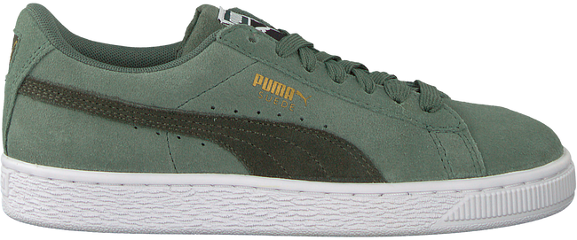 Green PUMA Sneakers SUEDE CLASSIC JR - large
