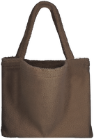 Brown STUDIO NOOS Shopper CHUNKY TEDDY MOM-BAG  - medium