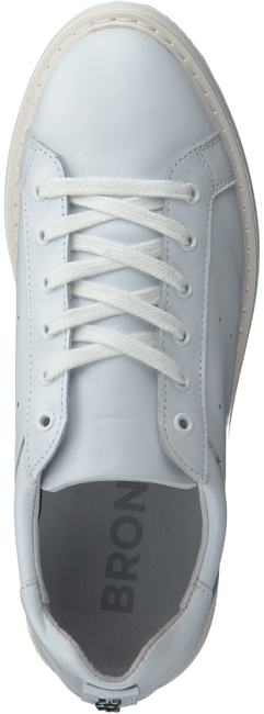 White BRONX Sneakers 65645 - large