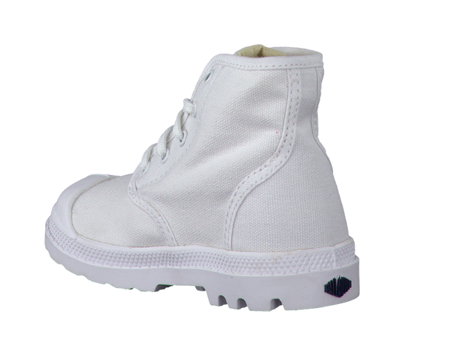 White PALLADIUM Ankle boots PAMPA HI LACE K - large