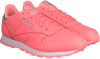Pink REEBOK Sneakers CL LEATHER KIDS - small