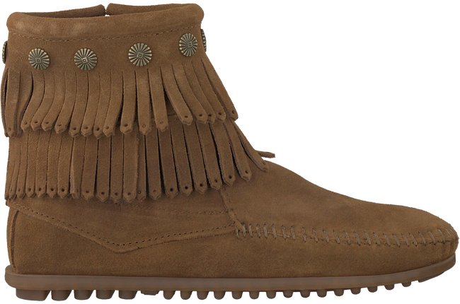 Brown MINNETONKA Booties 692 - large