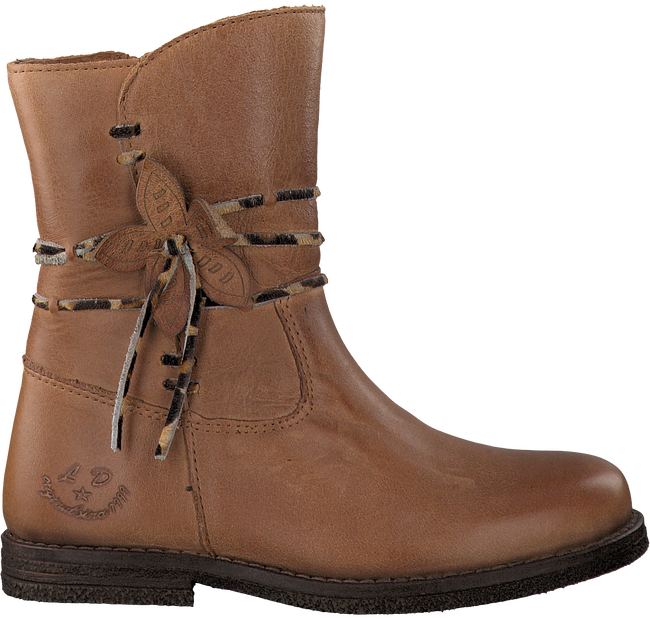 Cognac LITTLE DAVID High boots SAFARI 1 - large
