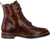 Cognac VERTON Lace-up boots 673-003  - small