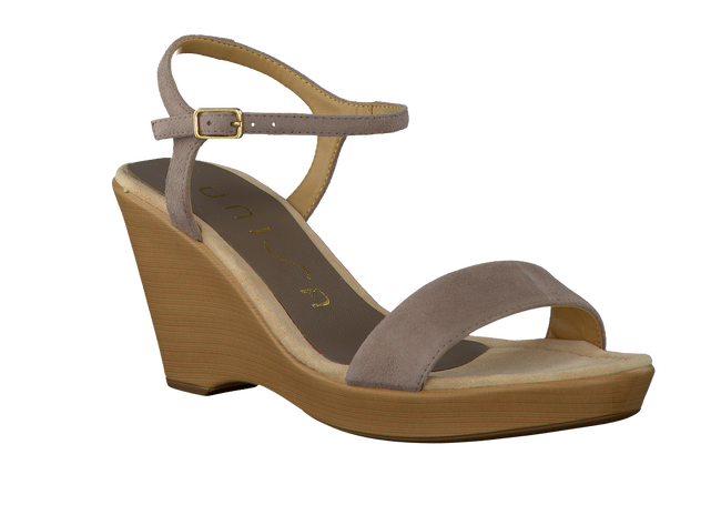 Taupe UNISA Sandals RITA - large