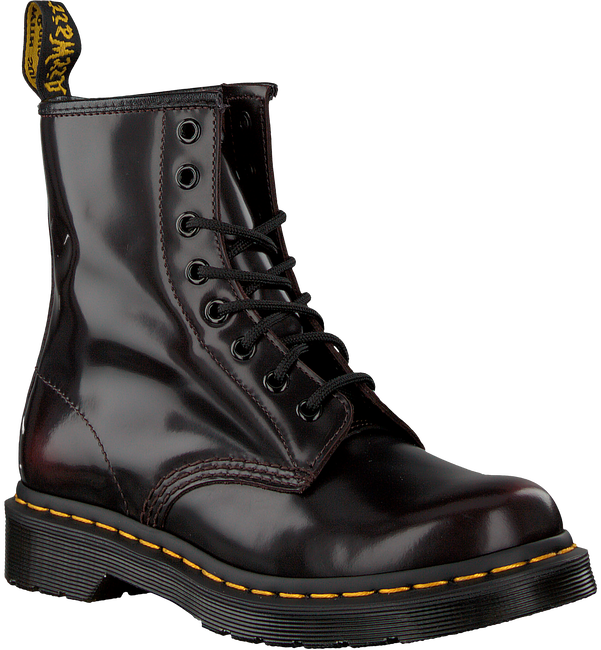 Red DR MARTENS Lace-up boots 1460 - large